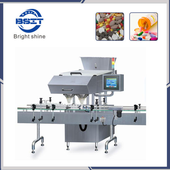 High Speed Tablet Capsule Electronic Counting Packing Machine (16 channels)
