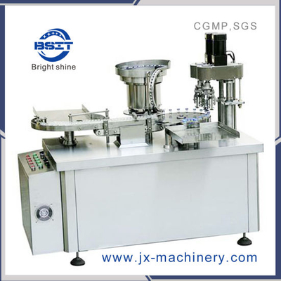 Automatic Vial Glass/Plastic Bottle Chuck Capping Machine