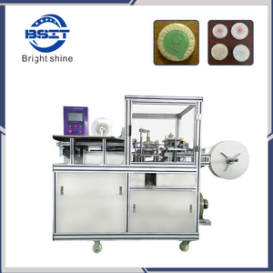 Tea Cake Plastic Film Wrapping Packing Machine Machine for Tea