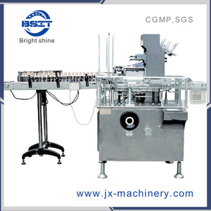 Bsm-125 Carton Box Packing Machine for 10ml E-Cig Round Bottle