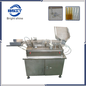 Mini Ampoule Machine /Ampoule Filling and Sealing Machine with Two Nozzle for 5-10ml