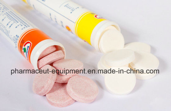 Effervescent Tablet High Quality Into Tube Counting Packing Machine