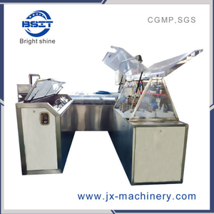 Different Types of Blister Suppositories Liquid Forming Filling Sealing Machine