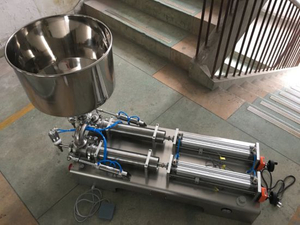 Semi-Auto Manual Cream/Hand Washing Liquid/ Disinfectant Liquid Alcohol Filling Machine