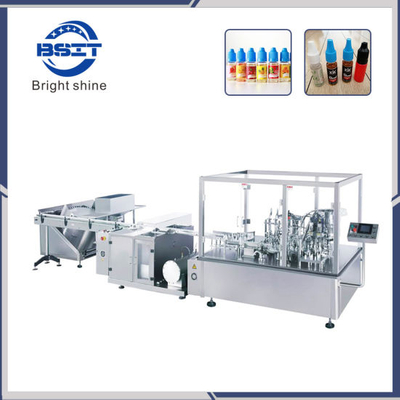 10ml E-Cig Oil Liquid Filling Sealing Packing Machine