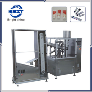 Automatic Soft Laminate Aluminium Plastic Tube Filling and Sealing Machine for Cosmetic Cream