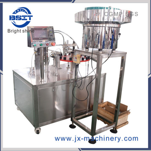 China 2 Heads PP Ampoule Filling Machine for Cosmetic Hyaluronic Acid Liquid