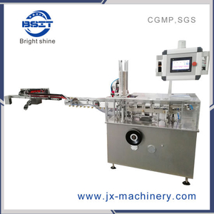 Automatic Effervescent Tablet Tube Into Box Packaging Cartoning Machine