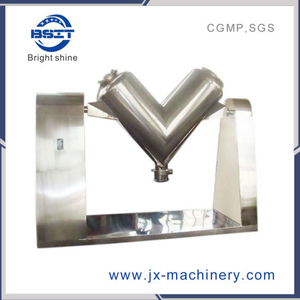 High Efficient V-Type Blender Mixer Machine with SUS304