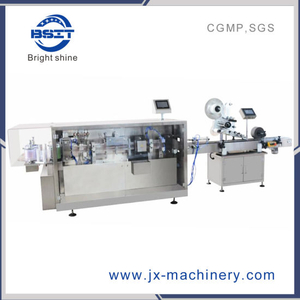 Dsm5+Lm100 Plastic Ampoule Bottle Filling Capping and Labeling Machine