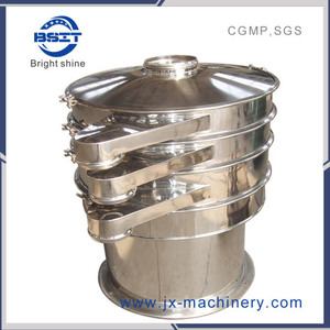 Hot Sale China Good Quality Vibration Sifter for Pharmaceutical (All 304, three outlets)