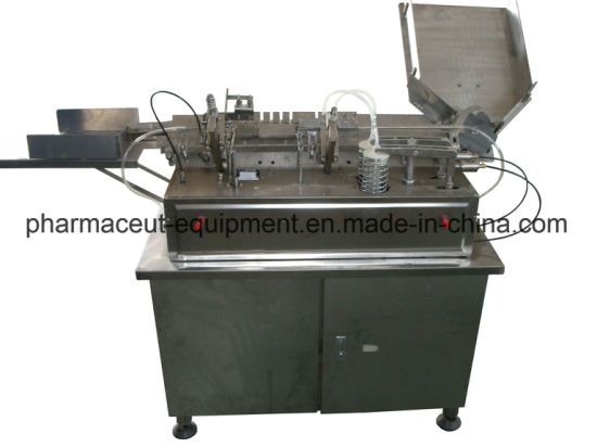 China Stainless Steel 2 Nozzles Beauty Ampoule Filling Sealing Machine (AFS-2)