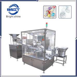 Manufacturing Factory Straight-Bottle Tablet Filling Machine / Effervescent Tablet Packaging Machine (BSP40A)