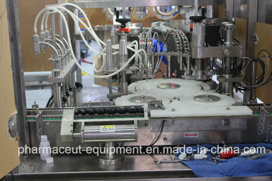 E-Cig E-Liquid Bottle Filling Sealing Capping Equipment (Meet with Ce)