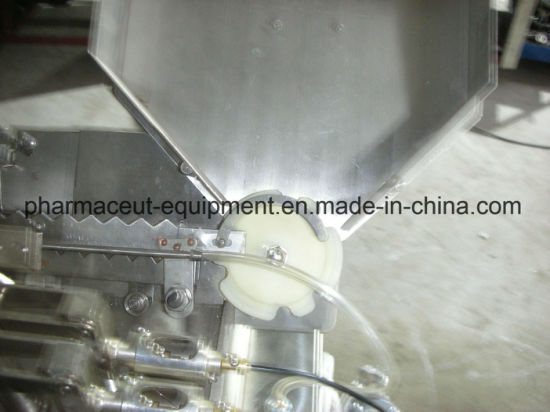 Injectable Ampoule Pesticide Filler Sealer Machine with Glass Syringe Filling Device (5-10ML)