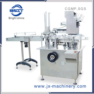 Automatic Carton Box Packaging Machine (blister, suppository E-Liquid Dropper Bottle)