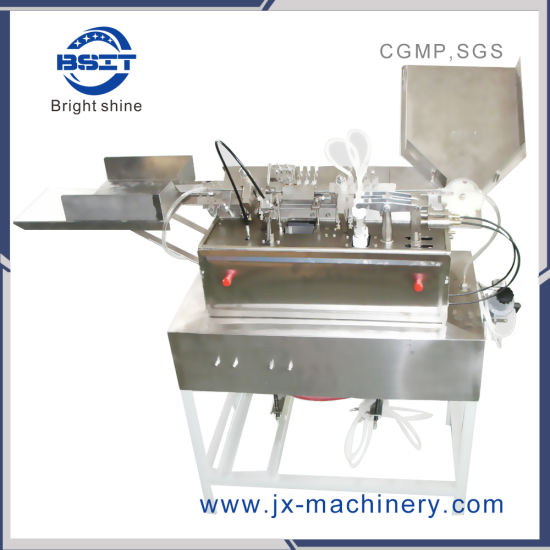 Hot Sale Glass Injection Pump Sterilize Ampoule Filling Sealing Machine for Beauty (2ml)