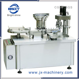 PLC Control 10ml Glass Vial Cap Sealing Machine