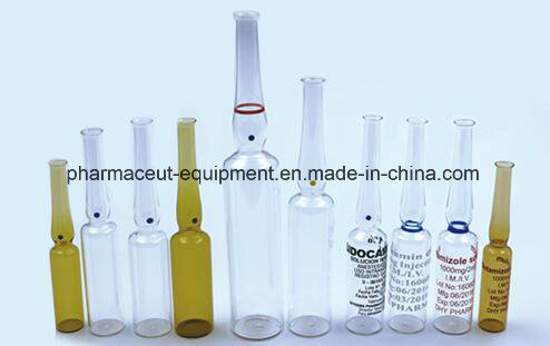 Manufacturer Price 8 Head Ampoule Injection Filling Sealing Machine (5-10ml)