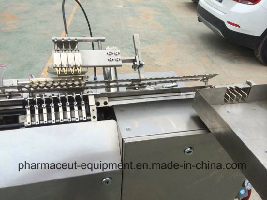 GMP Pharmaceutical 2ml Closed Glass Ampoule Filling and Sesaling Machine