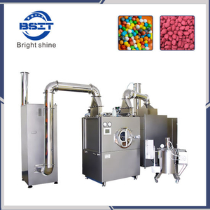SUS304 Stainless Steel Tablet Film Coating Machine with CIP Cleaning System Meet Ce