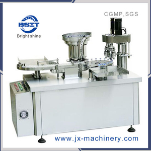Piston Pump Control 10ml Injection Vial Filling Capping Machine for SUS304