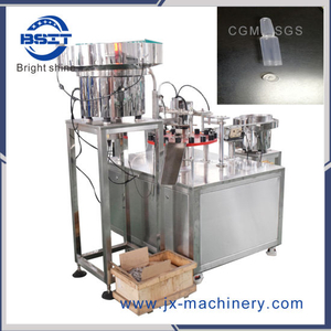 New Model Plastic Ampoule Bottle 5-10ml Filling Capping Machine for Cosmetics (make-up)