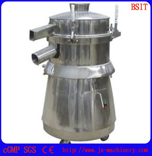 Round SUS304 Stainless Steel Vibrating Sieve Machine (BZS-515)