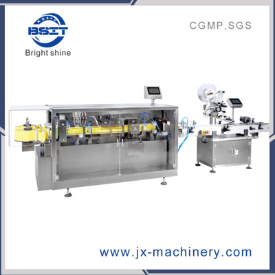 Pharmaceutical Machine Plastic Ampoule mechanical Pump Liquid Filling Machine for Oral Liquid