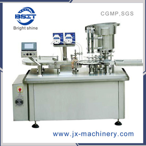 Automatic Glass Infusion Vial Bottle Filling Crimping Capping Machine