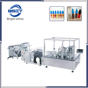 10ml E Cigarette Bottle Filling and Sealing Machine