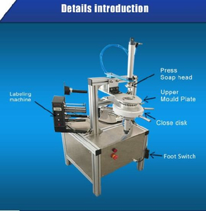 Ht900 Good Price Hot Sale Small Soap Wrapping Machine