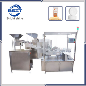 Hot Sale Vitamin C Effervescent Tablet Bottle Packaging Machine with SUS34/SS316 (BSP40A)