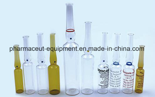 2 Head Glass Pump Olive Oil Ampoule Liquid Filling and Sealing Machine (5-10ML)