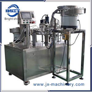 Factory Price Plastic Ampoule Bottle 5-10ml Filling Capping Machine for Cosmetics Product
