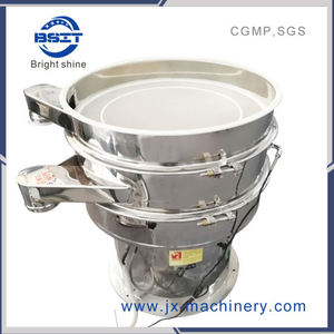 SUS304 Good Quality Vibrating Sieve Machine (Meet GMP Standards)